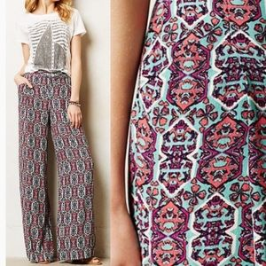 Anthropologie Elevenses Southshore Wide Leg Pants